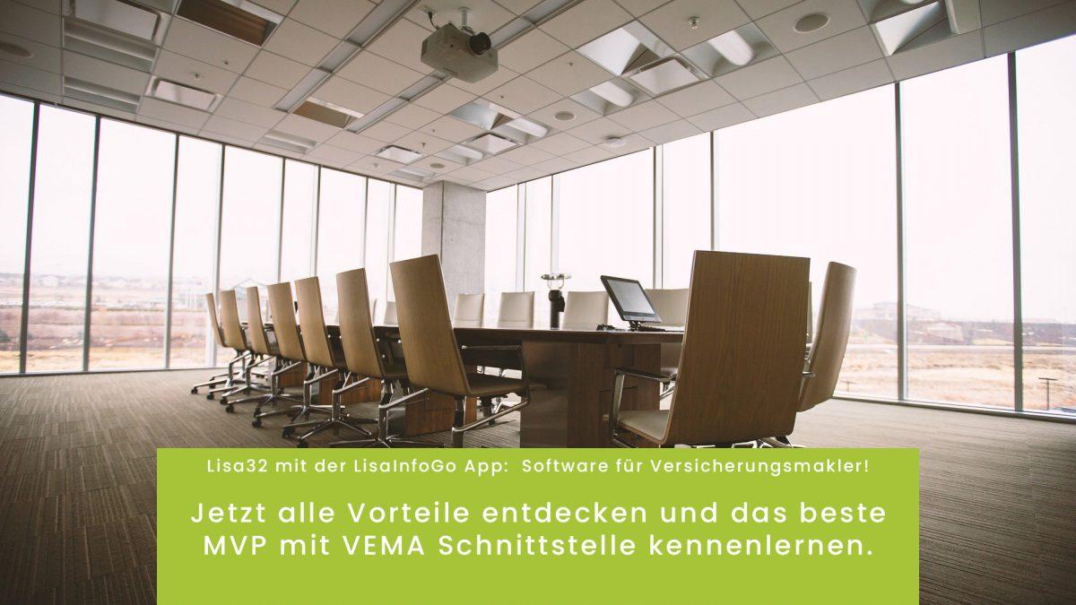 Maklerverwaltungsprogramm, MVP, Lisa32, wmLisaSoftware, Software für Versicherungsmakler, MVP mit VEMA, MVP mit BiPro